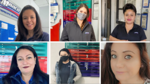 Images of women that work at Maaco